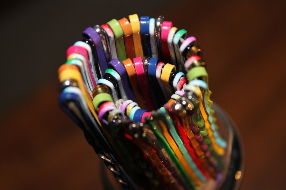 Wanting many colors. I put this together hoping to capture spiral full with color and focal point...