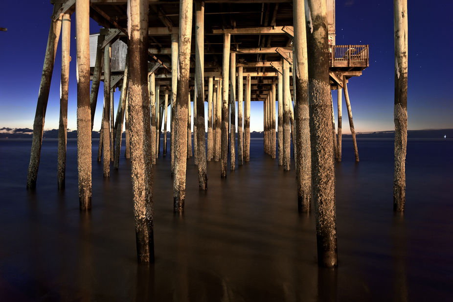 Shot this early one cold morning at the Old Orchard Beach in Maine.