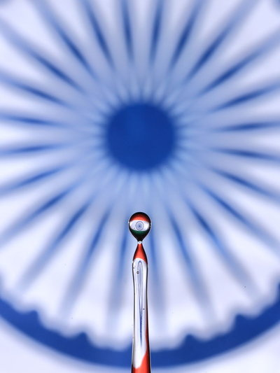 Indian tri colour