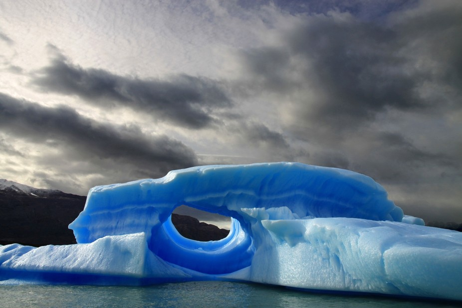 Iceberg in Southern Patagonia