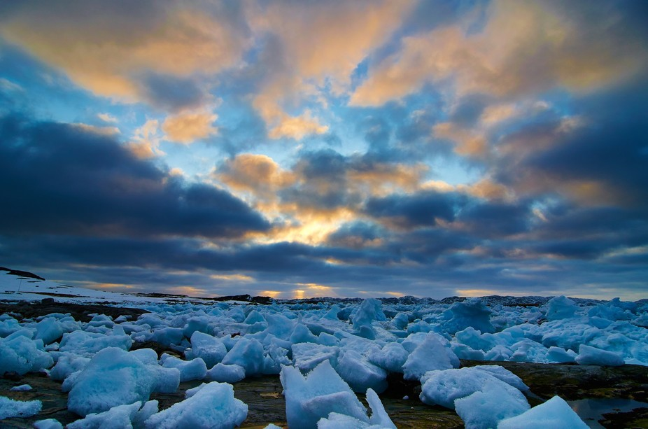 Skies and ice