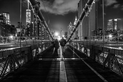 The light at the end of the...Brooklyn Bridge
