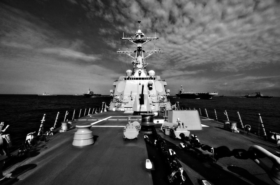 This has to be one of my favorite shots in my time in the Navy.  What a rush!  Check out that for...