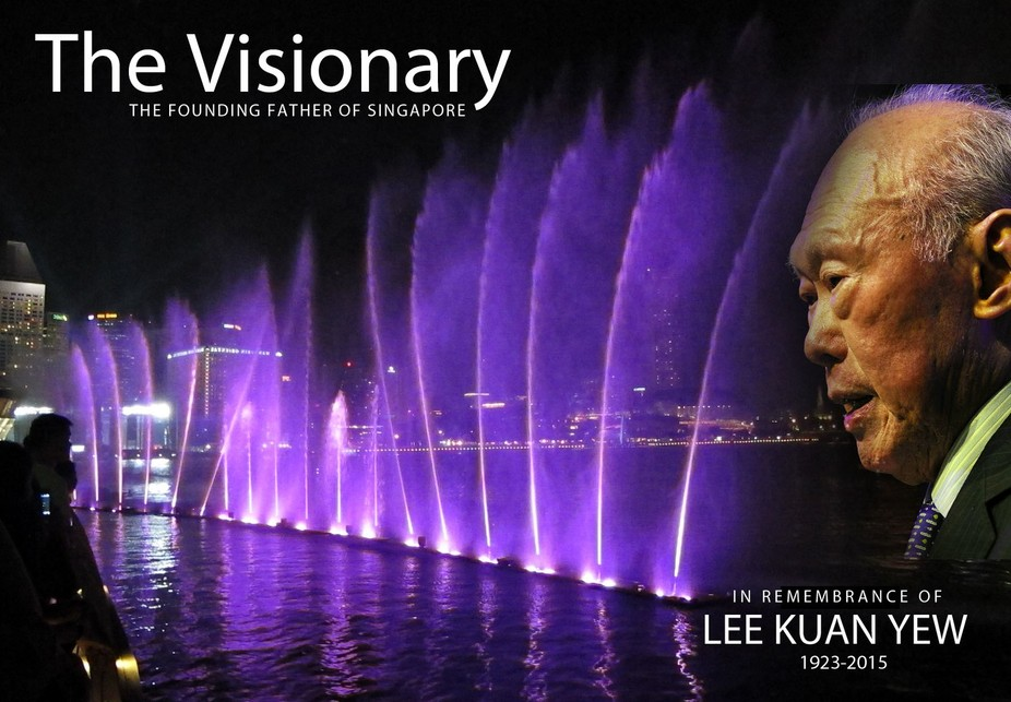 The founding Father of Singapore, who passed on to glory today, 23 March 2015 at 3.18am at the Si...