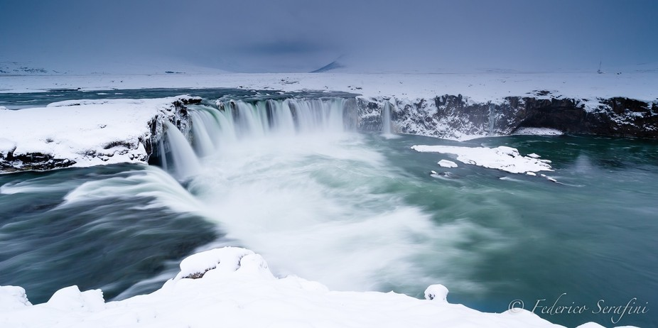 the other side of Godafoss