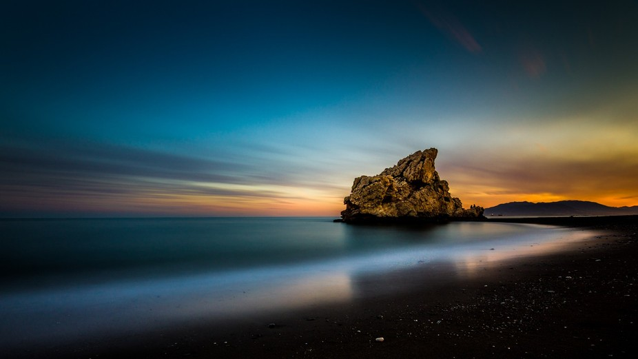 Haida 4x4 ND 3.0 x1000, Tokina 11-16 mm 11mm, 220 sec, f8, ISO 50 Hyperfocal distance: 0.77m Set ...