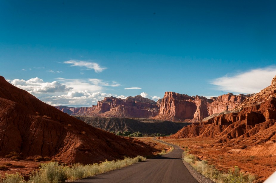 I took a rental Dodge Challenger into the Utah badlands to explore; channeling my inner vagabond ...