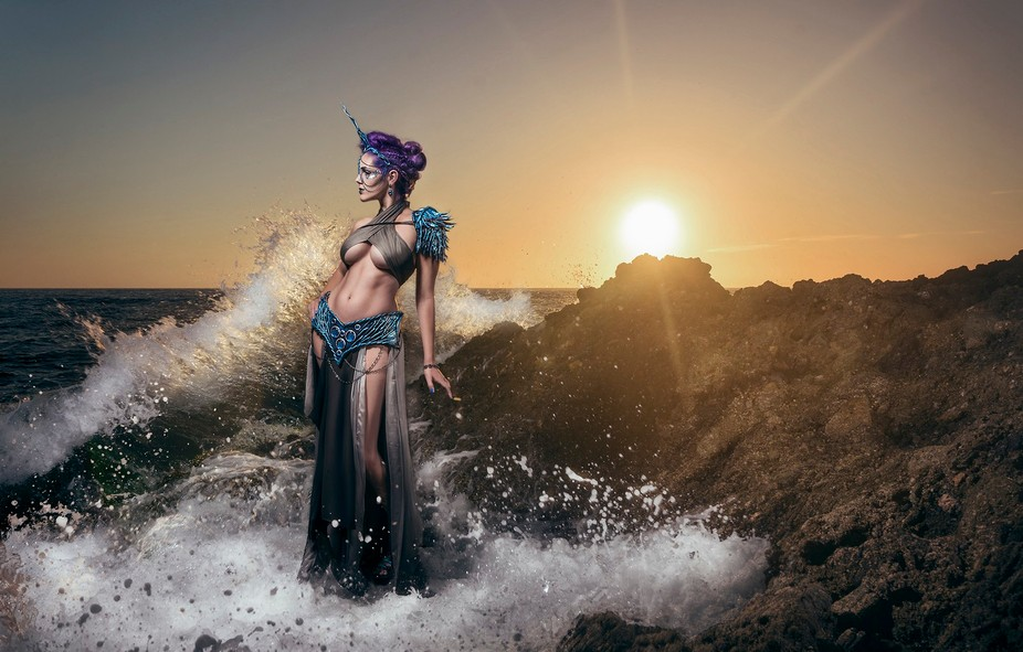 Location shoot in Laguna Beach.  Costuming and Modeling by https://www.facebook.com/ReilenaCosplay