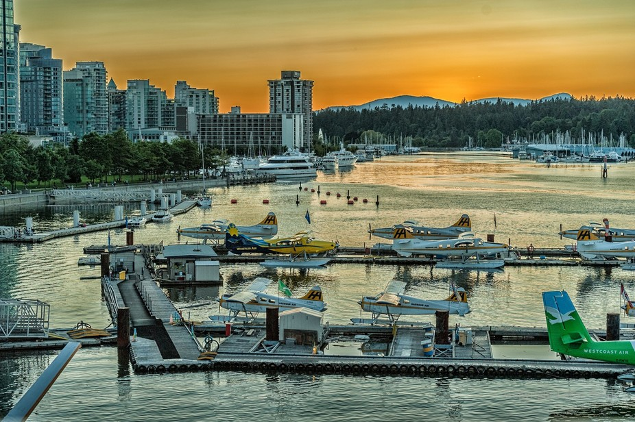Sunset, Vancouver