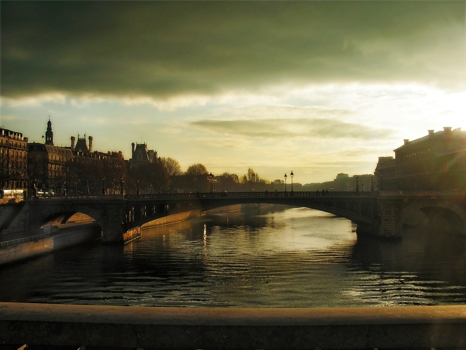 This was taken on the first day I got lost in Paris OMG 10 years ago this month! It is the Pont N...