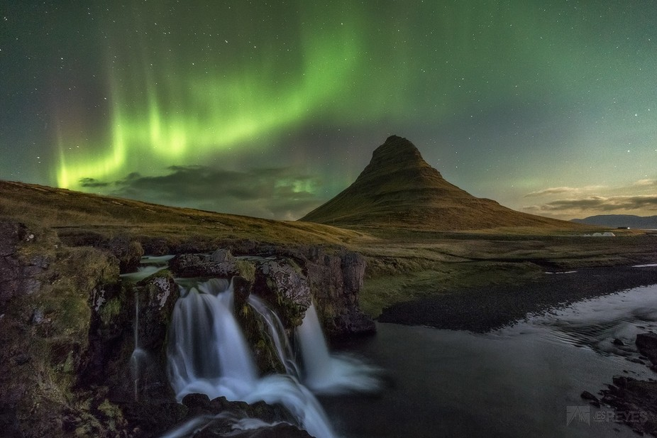 """This stunning northern light or """"Aurora Borealis"""" was majestic to experienced f..."""