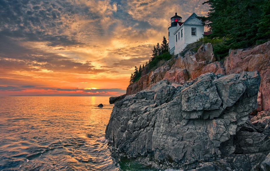 Congress appropriated $5,000 for the construction of the Bass Harbor Head Light after it was dete...