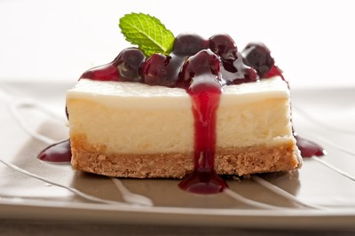 Saskatoons and Cheesecake