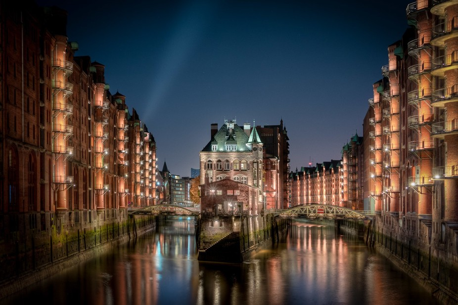 The whole district Speicherstadt in Hamburg is a UNESCO World Heritage Site and when you look at ...