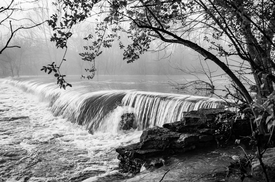 Fog at the Old Dam 2