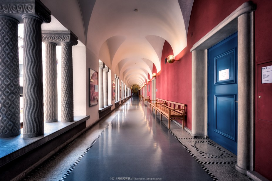 """The Corridor"" University of Zurich 