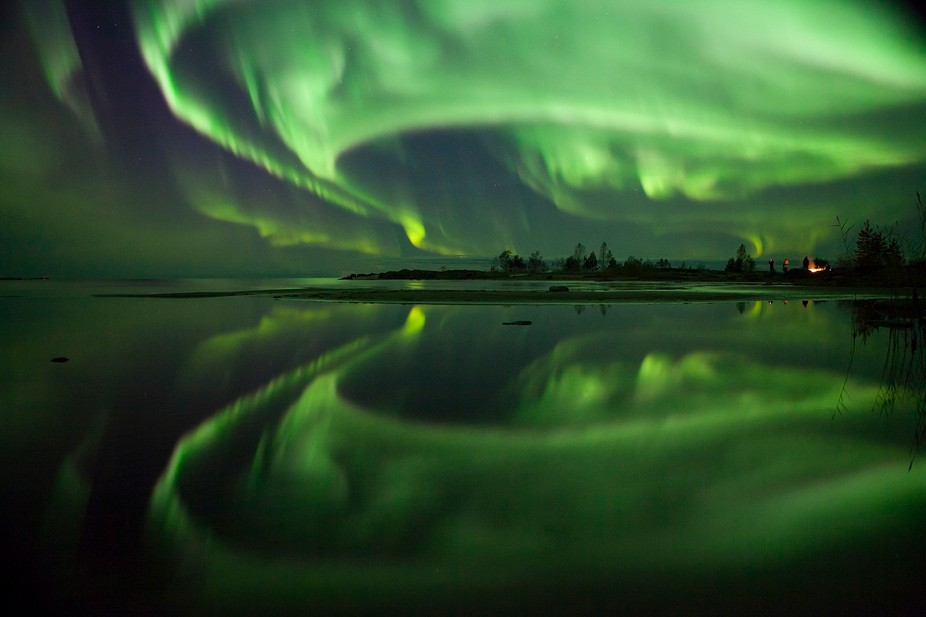 I only just arrived in my new home country Finland, when the Nordic lights danced into the dark s...