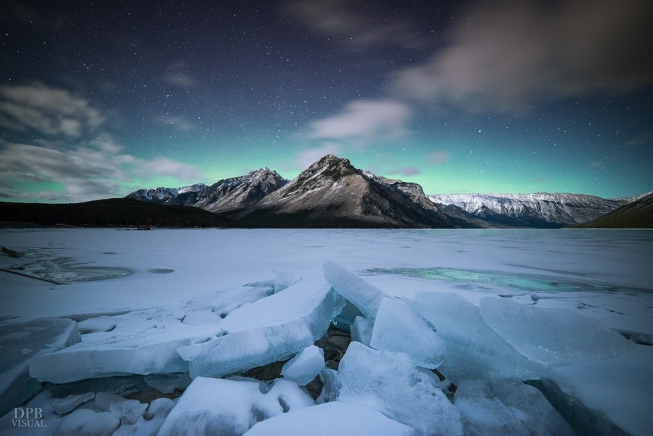 A patient night waiting for aurora at a location I've visited many times. Not much was h...