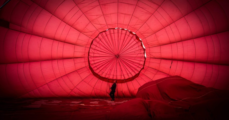 Earlier this year I was lucky enough to take a balloon flight over the north of England. When in ...