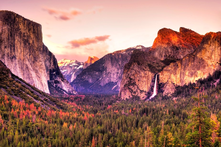 On the occasion of John Muir's birthday today (April 21st).. The Range Of Light - Photo ...