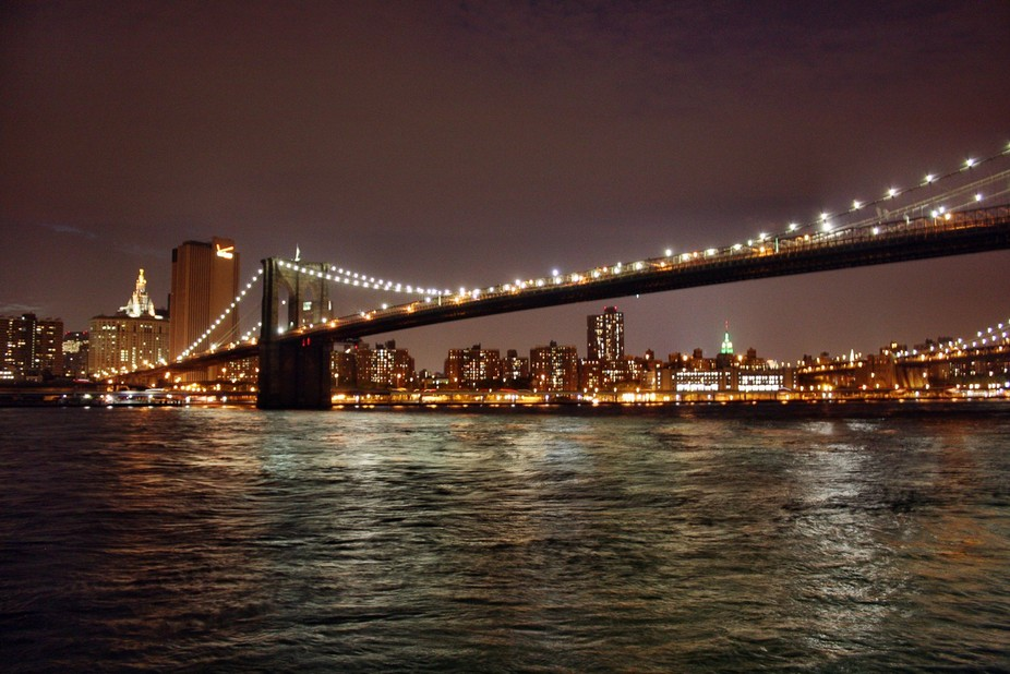 Brooklyn Bridge and Big Apple