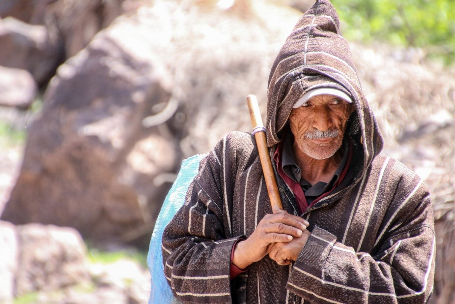 a Berber who came forward with in the Atlas mountains in Morocco. I secretly squeezed the trigger...