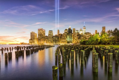 9/11 Tribute in Lights - 2016