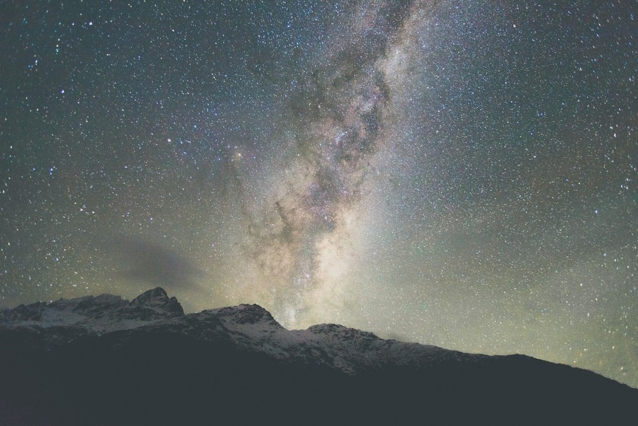 Late at night, beckoned by the calling of the shining stars through the cabins window, I managed ...