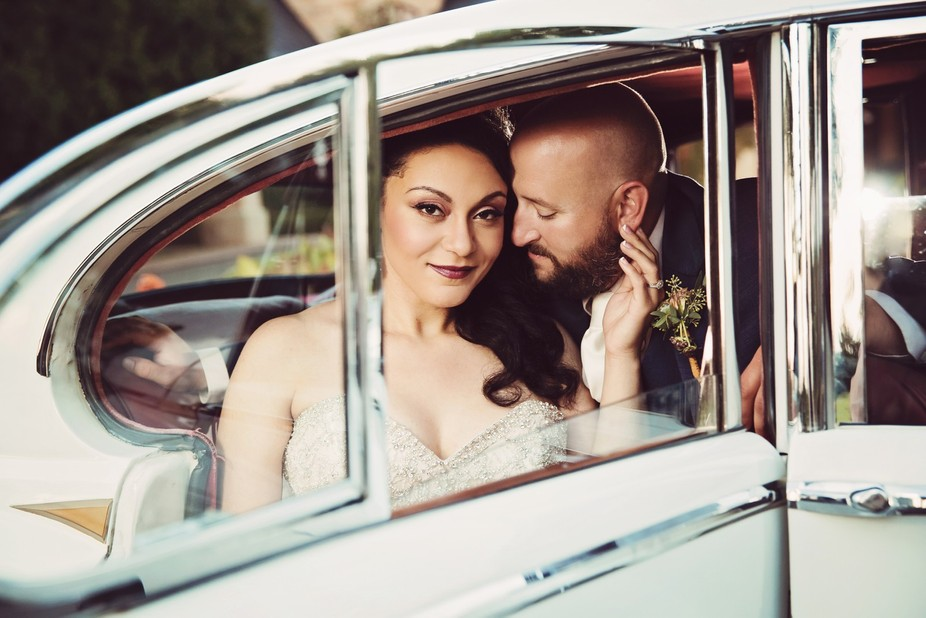 This couple won a wedding portrait redo contest I held this summer.  The couple married in 2009, ...