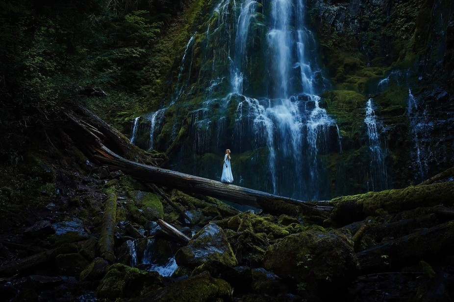 Oregon's Proxy Falls was just as magical as it looks in this image!  Don't forg...