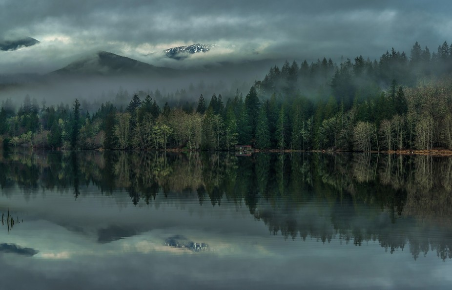 Lake Leland is in Washington State. Leland is located just north of the Olympic National Park, al...