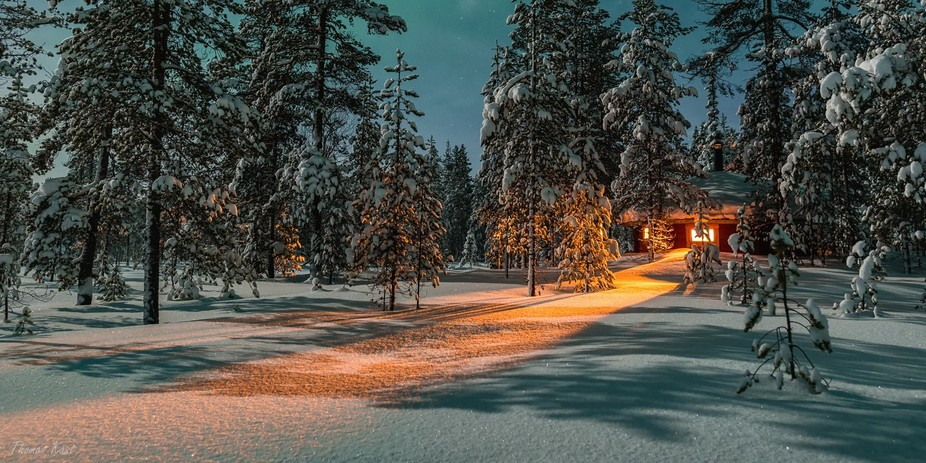 Location: Äkäslompolo, Lapland, Finland.  In January 2018 I will guide a small group for a 1-we...