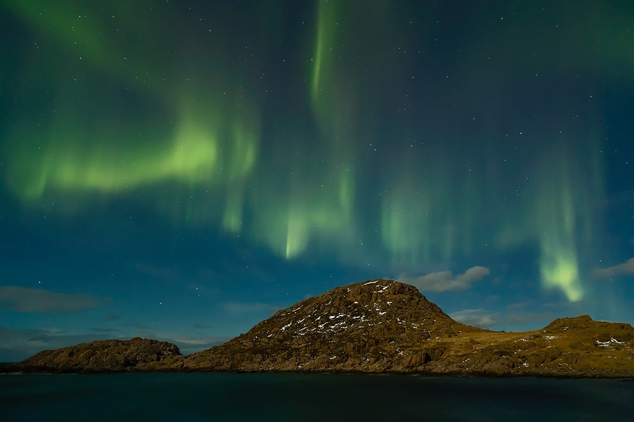 I love the magic of the dancing Norther Lights! This image was captured in Northern Norway at an ...