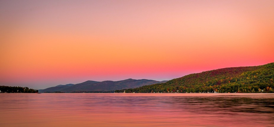 Golden Hours - Lake George