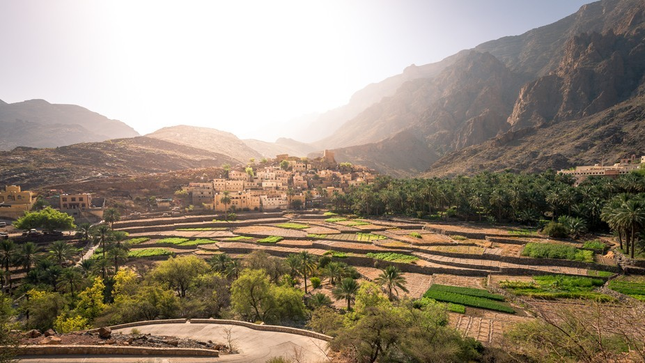 This village found all the way up in the mountain in Oman, very special place.