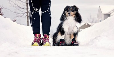 Running with my friend