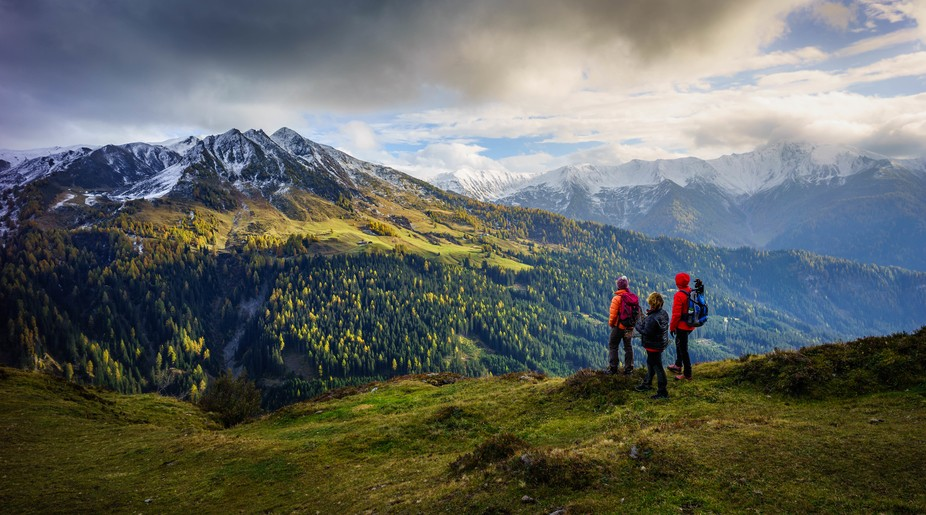 Navis Valley in all its glory - what a beautiful part of the world! Tyrol Austria