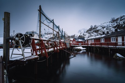A small village on the lofoten... its called nusfjord !
