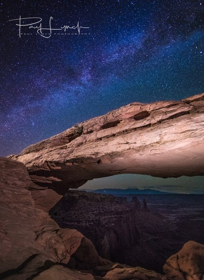 Mesa Arch Astrophotography