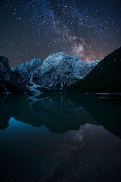 Lago Di Braies Night Final