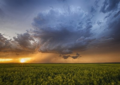 Sunset Supercell