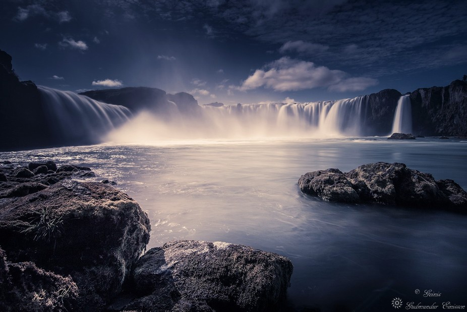 The Waterfall of The Gods.