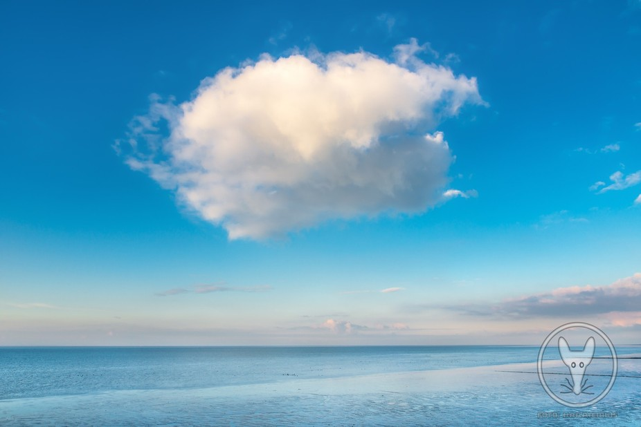 Just a cloud above the North Sea