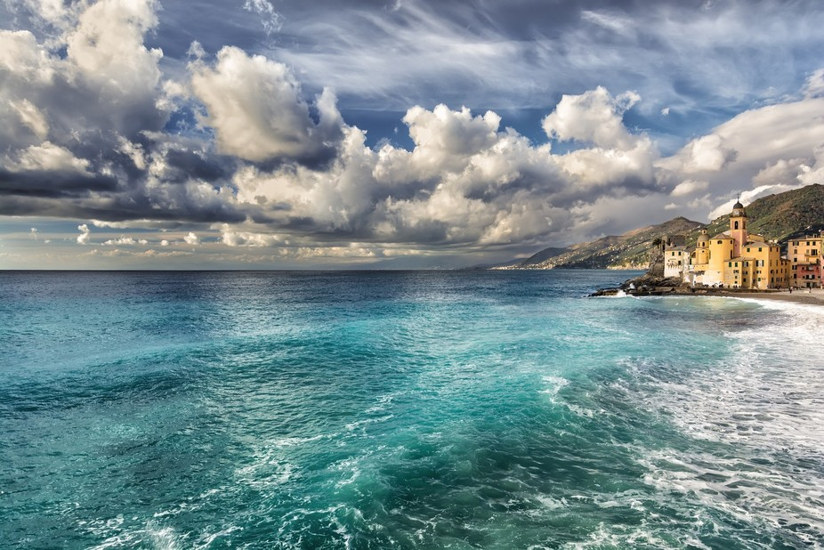 Camogli after the storm