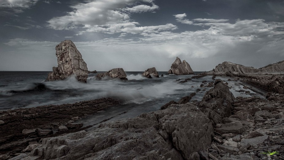 La Arnia is a well known place at the Atlantic Coast of Cantabria (SPAIN)
