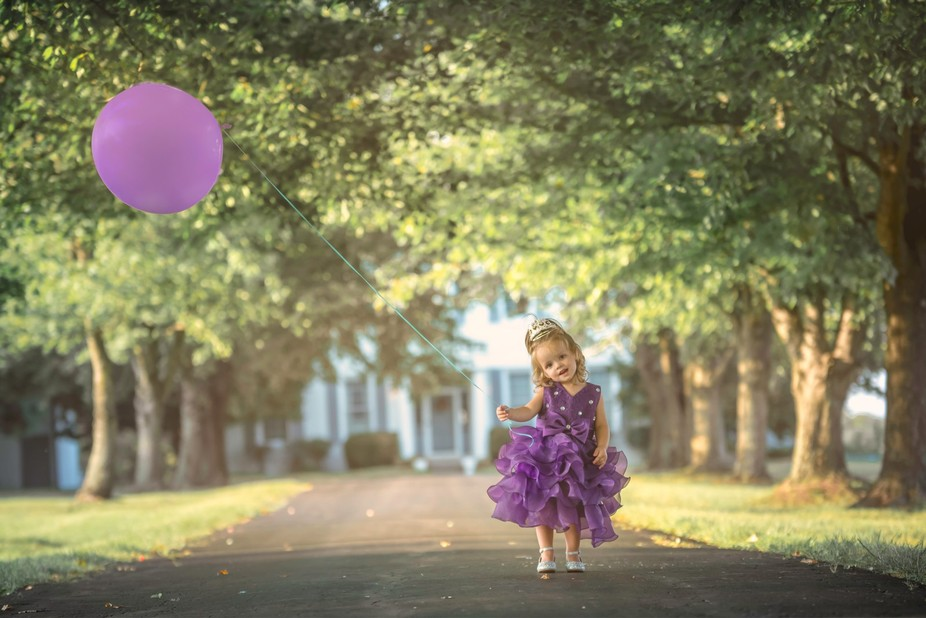 The Princess and the Purple Balloon