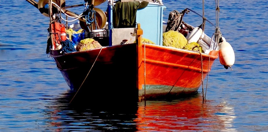 The bright colors of the boats in Greece, are a dream for photographers and artists.