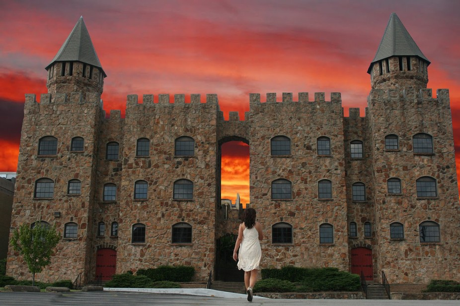 There is no greater site to capture at sunset in the city of Birmingham, Alabama.  Quinlan Castle...