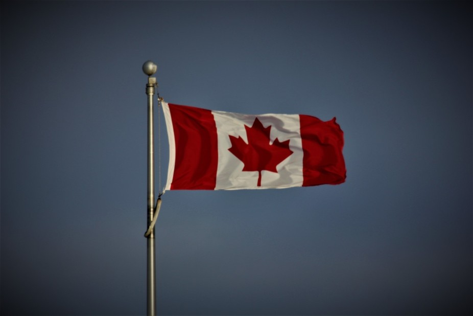Canadian flag!