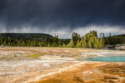 Storm Arising in Yellowstone National Park